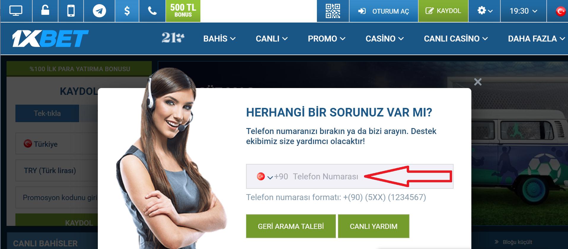 Tüm kullanıcılara verilen 1xBet Türkiye giriş ardından verilen bonus avantajları